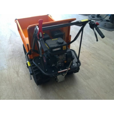 MOTOCARRIOLA A CINGOLI CON CASSONE  TAG300N AMA MOTORE LONCIN 6.5 HP