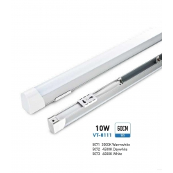V-TAC VT-8111 SMD LED TUBE CEILING LIGHT 10W BULB 60CM