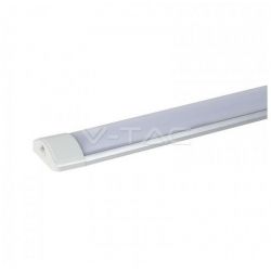 V-TAC VT-80404 PRISMATIC LED TUBE FITTING CEILING LAMP 40W BULB