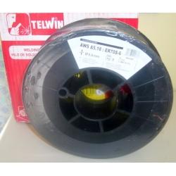 STEEL WIRE COIL 0.6 MM 5 KG 802395 ORIGINAL TELWIN WELDER UNDER GAS