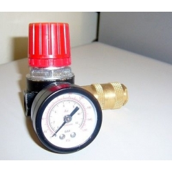 Pressure reducer micro 1/4 Quick Coupler Compressed Air New
