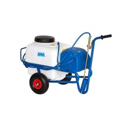 Wheeled sprayer to battery 12V tank 50LT COMPLETE LAUNCHES AND TUBE MM