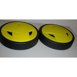 KIT WHEELS HUB CAPS LAVORWASH CLEANERS MACH VIPER MF 6.005.0273
