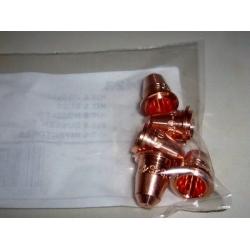 KIT 5 nozzles TELWIN PLASMA ORIGINAL SPARE 802423 NEW