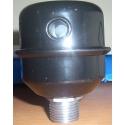 Air filter intake compressor ABAC ATTACK 3/8 IN METAL