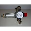 Pressure reducer 3/8 2 TAPS COMPRESSED AIR UNIVERSAL