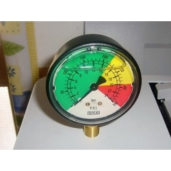 Pressure gauge for irrigation pumps glycerin 0-24 bar Annovi Reverberi 391240