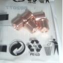 KIT 5 PLUG PLASTIC TELWIN NEW ORIGINAL SPARE PARTS